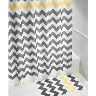 a05519b54e94 InterDesign Chevron Single Shower Curtain in 2019 | Products ...