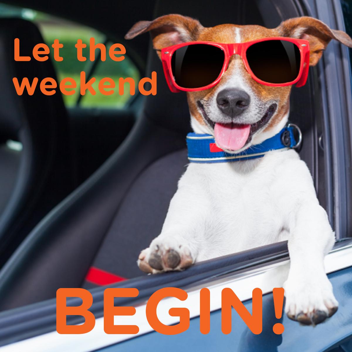 Let the weekend begin! Happy Memorial Day Weekend