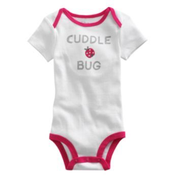 First Moments ''Cuddle Bug'' Bodysuit - Baby