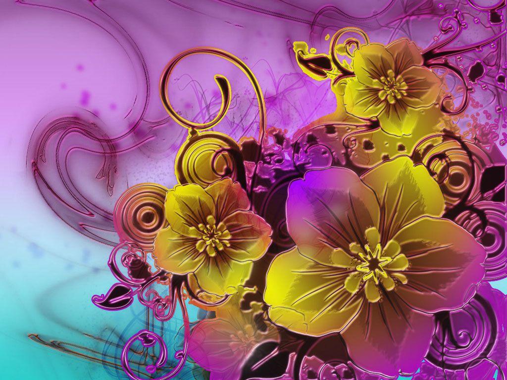 Fondos De Pantalla De Flores Hermosas Para Fondo Celular: Fondos Con Flores En 3D Para Fondo Celular En Hd 35 HD