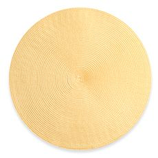 Round Placemat Yellow 1 99 Each Bed Bath And Beyond Woven