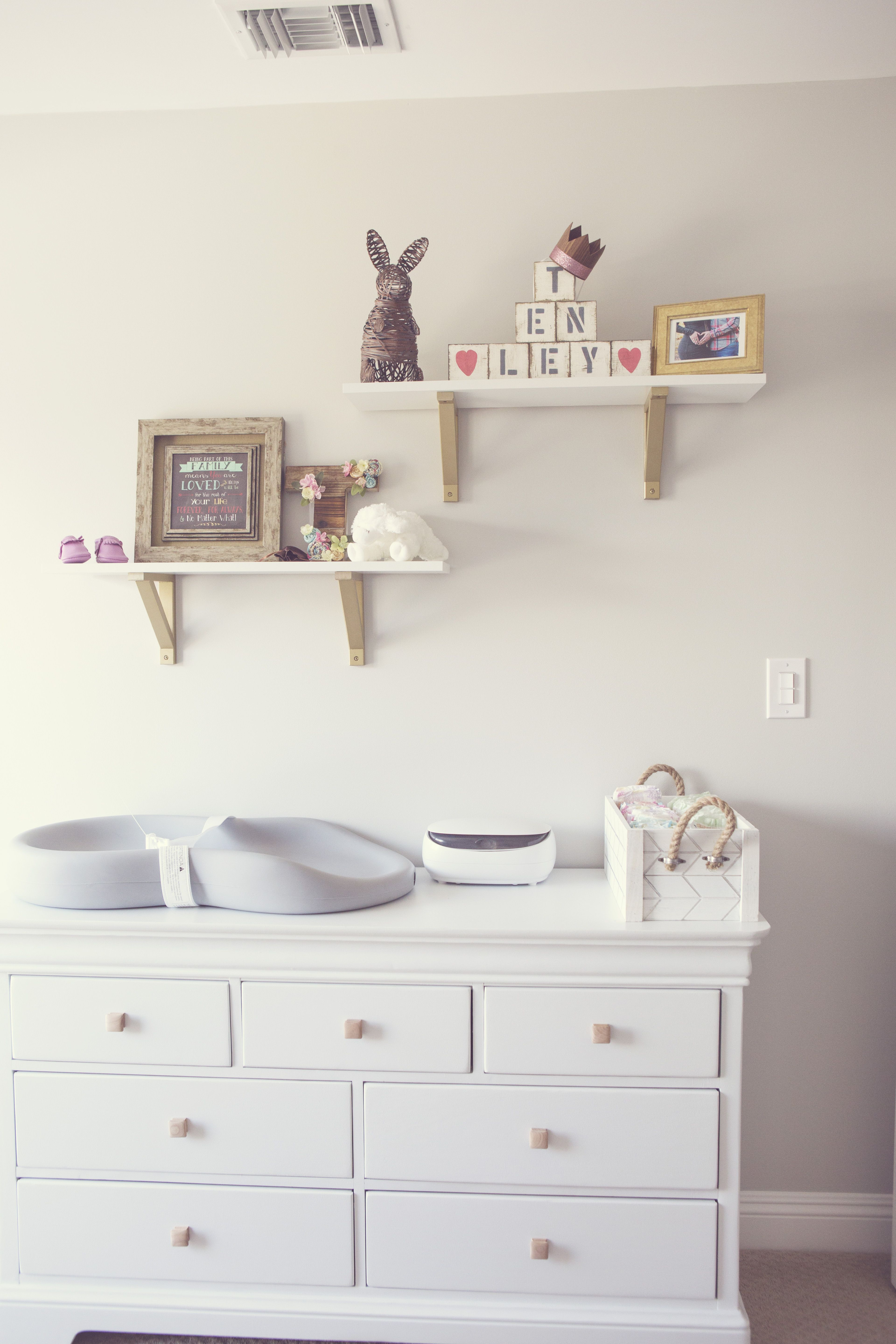 In The Nursery With Fantastically Fit Shelves