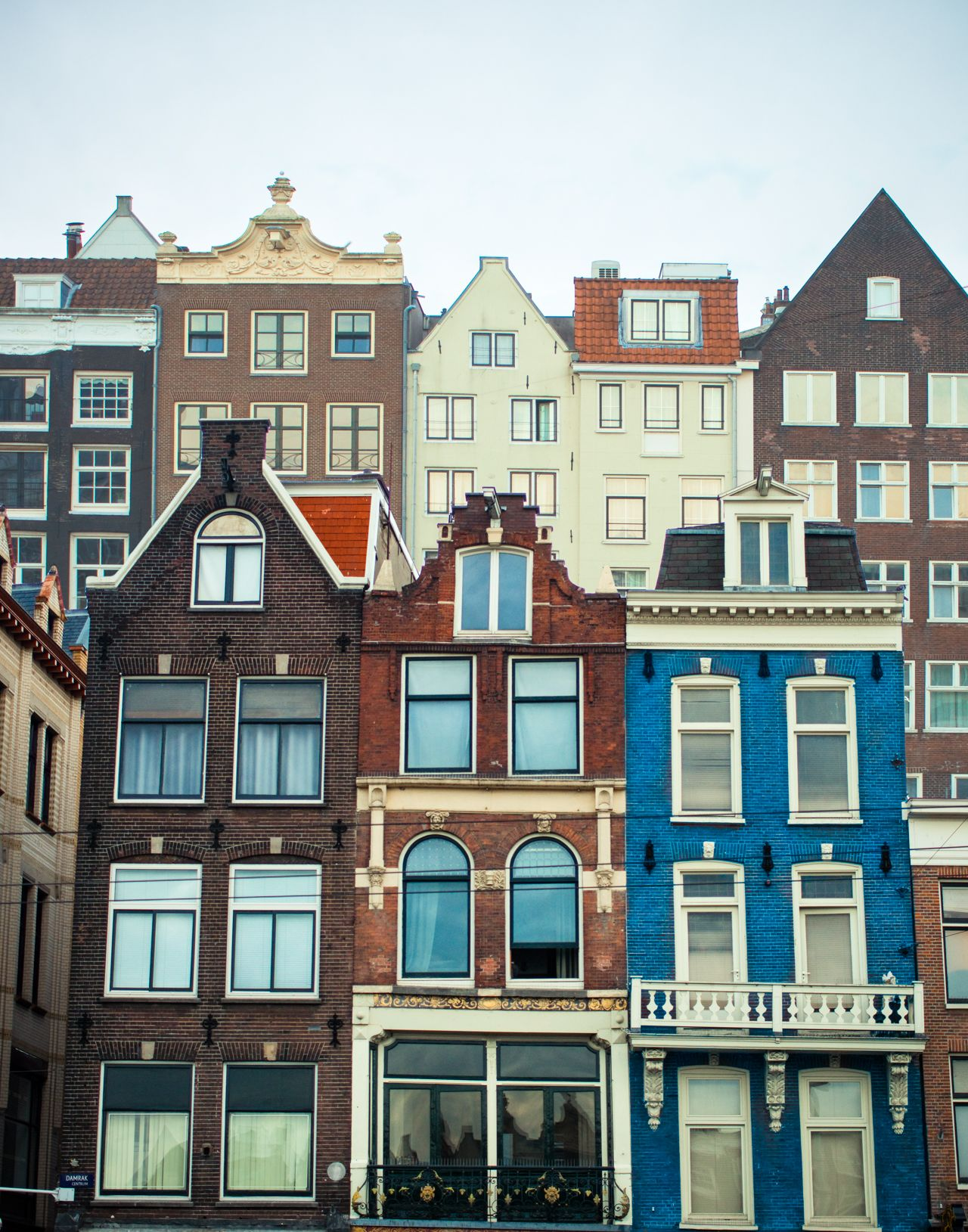 Amsterdam Canal Houses In Multiples Photo By Squint Photography