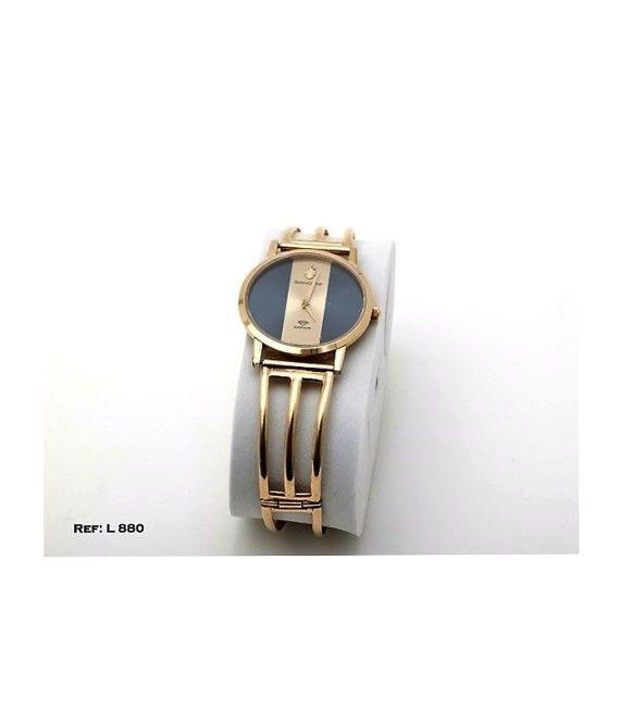 RELOJ SANDOZ SHAPIR PULSERA SEMI-RIGIDA  EN ORO 18 KT. Peso - 35.60 grPrecio anterior 1952€ahorro - 532€La pieza es nueva en su caja original. ENV