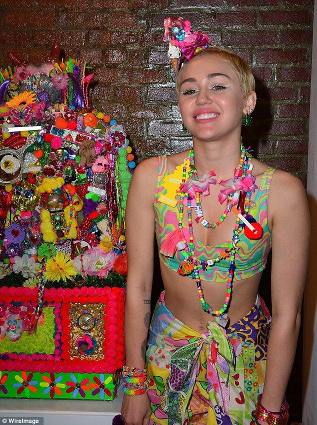 Miley cyrus with vibrator