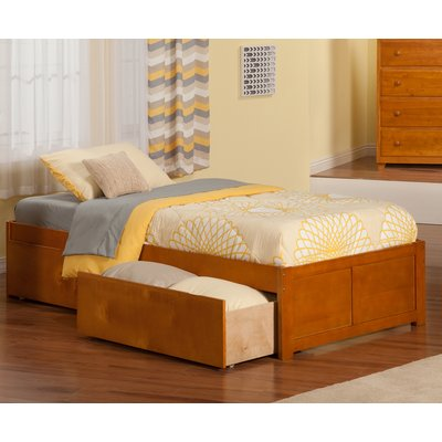 Isabelle Max Bolick Extra Long Twin Platform Bed With Drawers