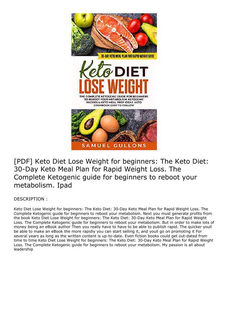 the keto diet epub