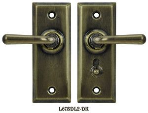 Charmant Recreated Complete Victorian Screen Door Latch Set Knob To
