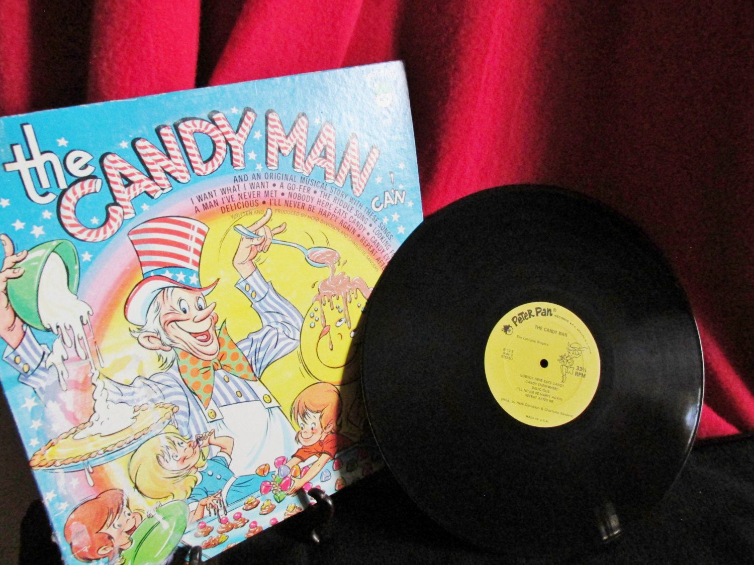 Children S Recording The Candy Man Can Lp By