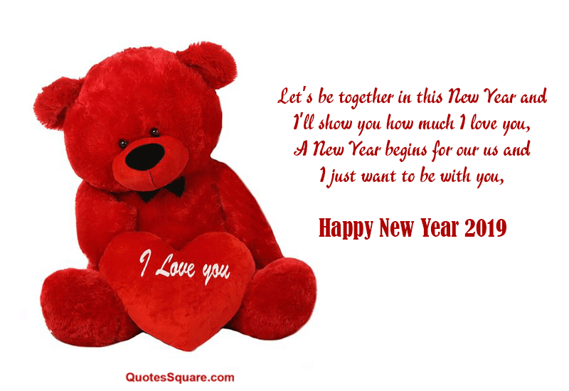 35 Best Happy New Year 2021 Teddy Bear Pictures with