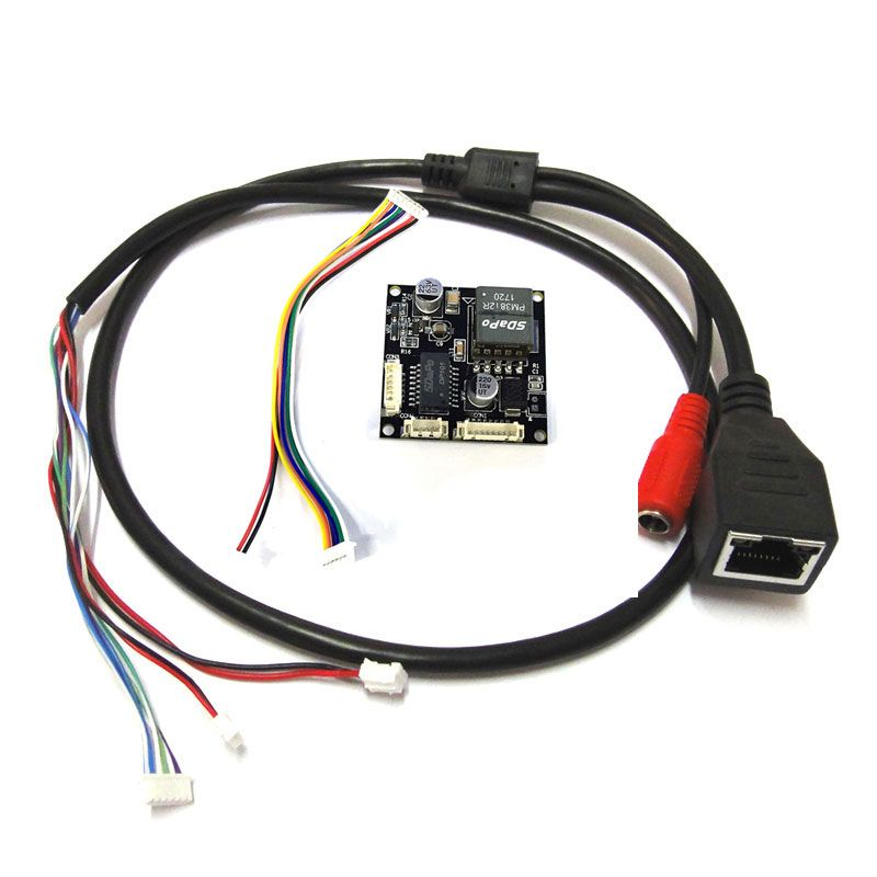 CCTV POE module Input 44-57V PCB board output DC12V for ip camera with poe cable