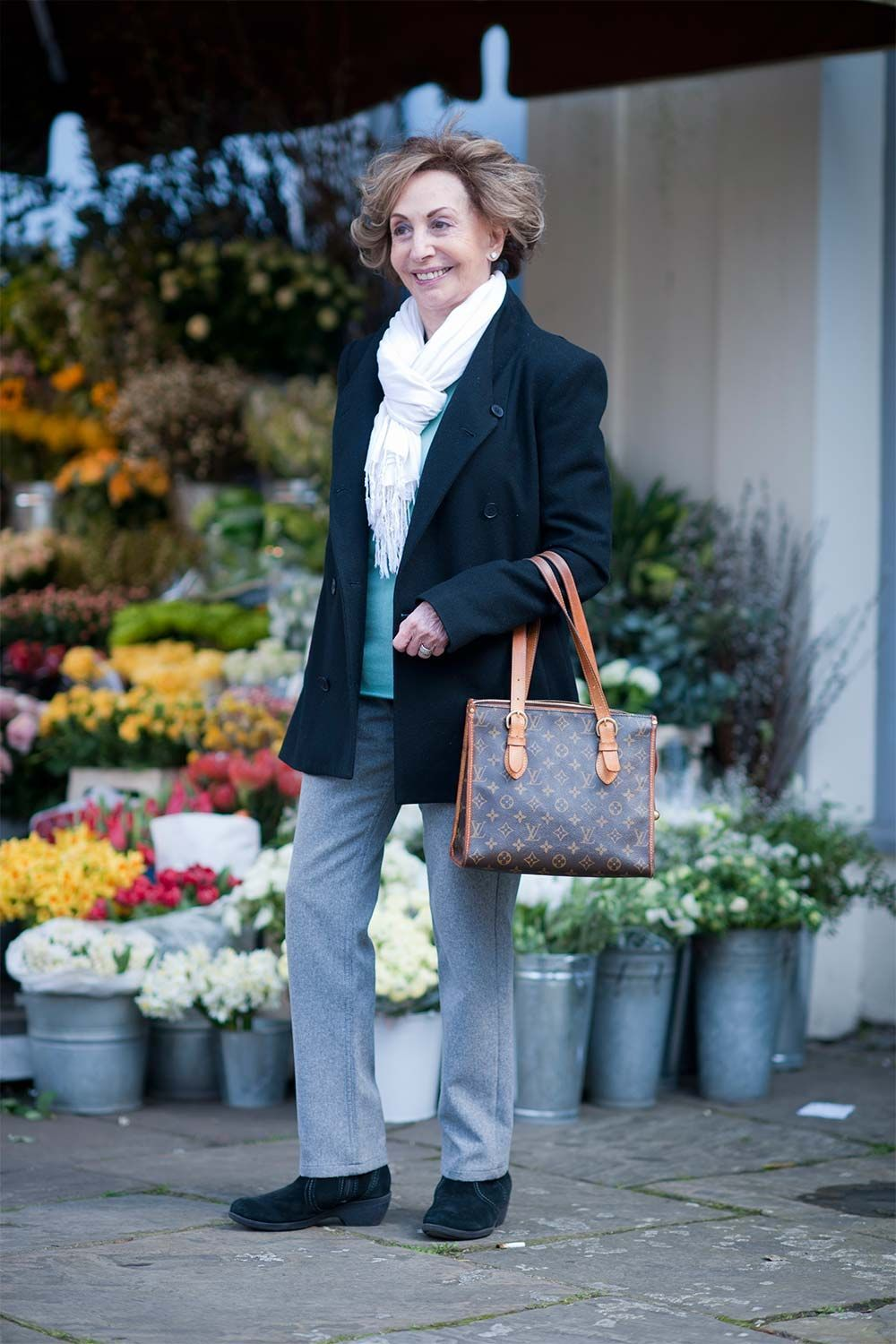 Street style from the fabulous older ladies of London