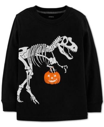 7 ate 9 Apparel Babys Dinosaur Halloween Hoodie