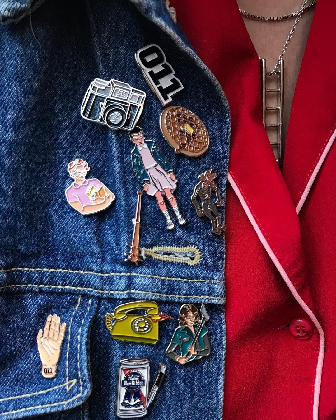 STRANGER THINGS COLLECTION | VERAMEAT PINS | pretty clothes