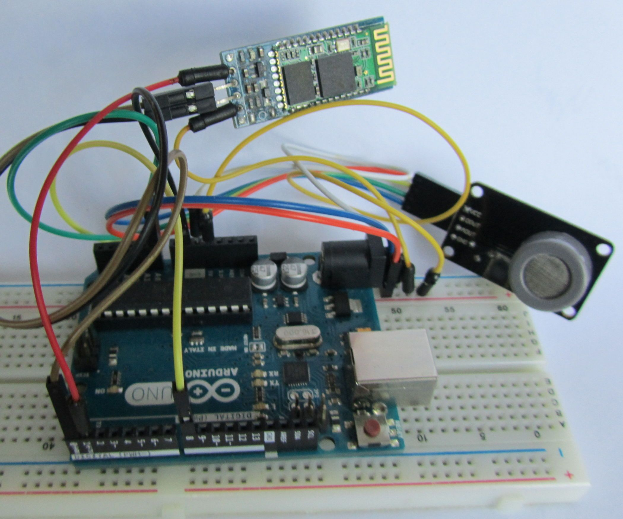 How To Use Mq7 Gas Sensors Whith Arduino Android App Raspberry Pi The Sensor We Will In This Circuit Is A Tcs3200 Color Via Bluetooth From