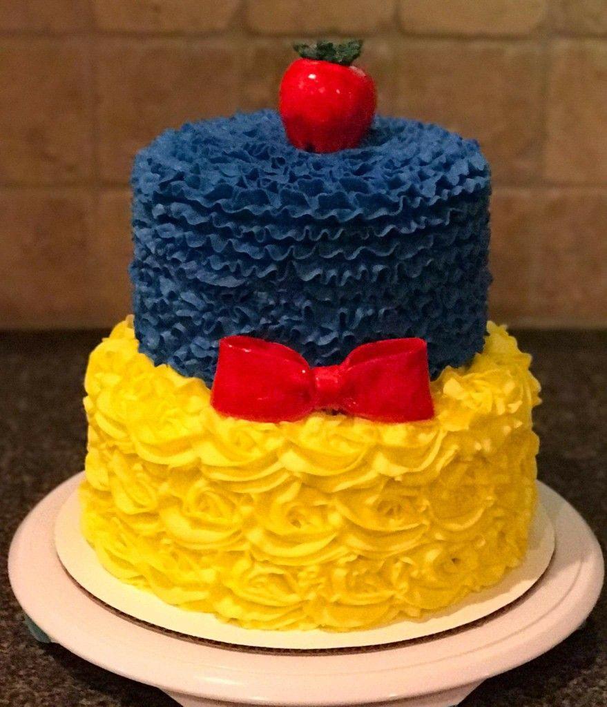 Snow white cake! | Decoration