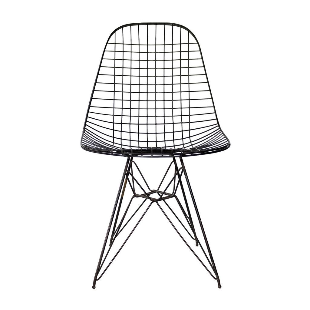 Eames Wire Mesh Side Chair
