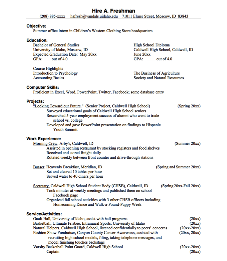 office intern resume sample httpexampleresumecvorgoffice intern - Internship Resume Examples