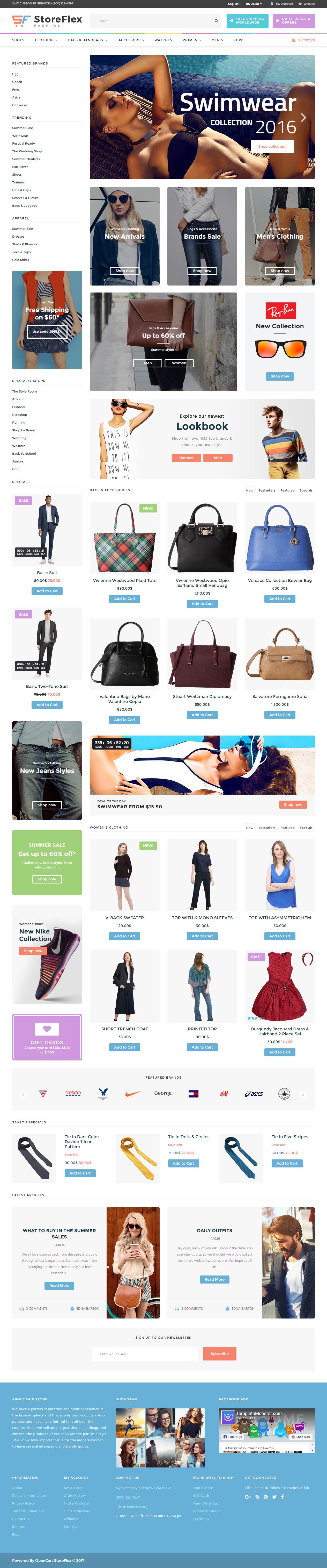 StoreFlex is Premium #Responsive #Opencart Theme. Bootstrap 3 ...