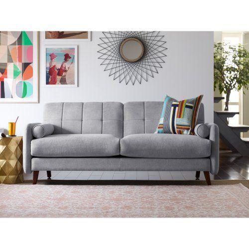 Elle Decor Mid Century Modern Natalie Sofa Sofas Loveseats At Hayneedle