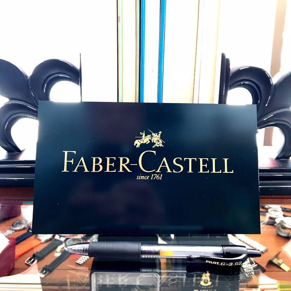 1 x genuine fabercastell plague exdisplay 11cm x 9cm