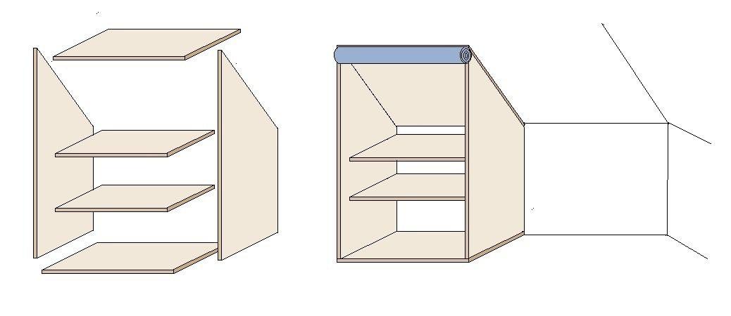 Einbaukleiderschrank selber bauen