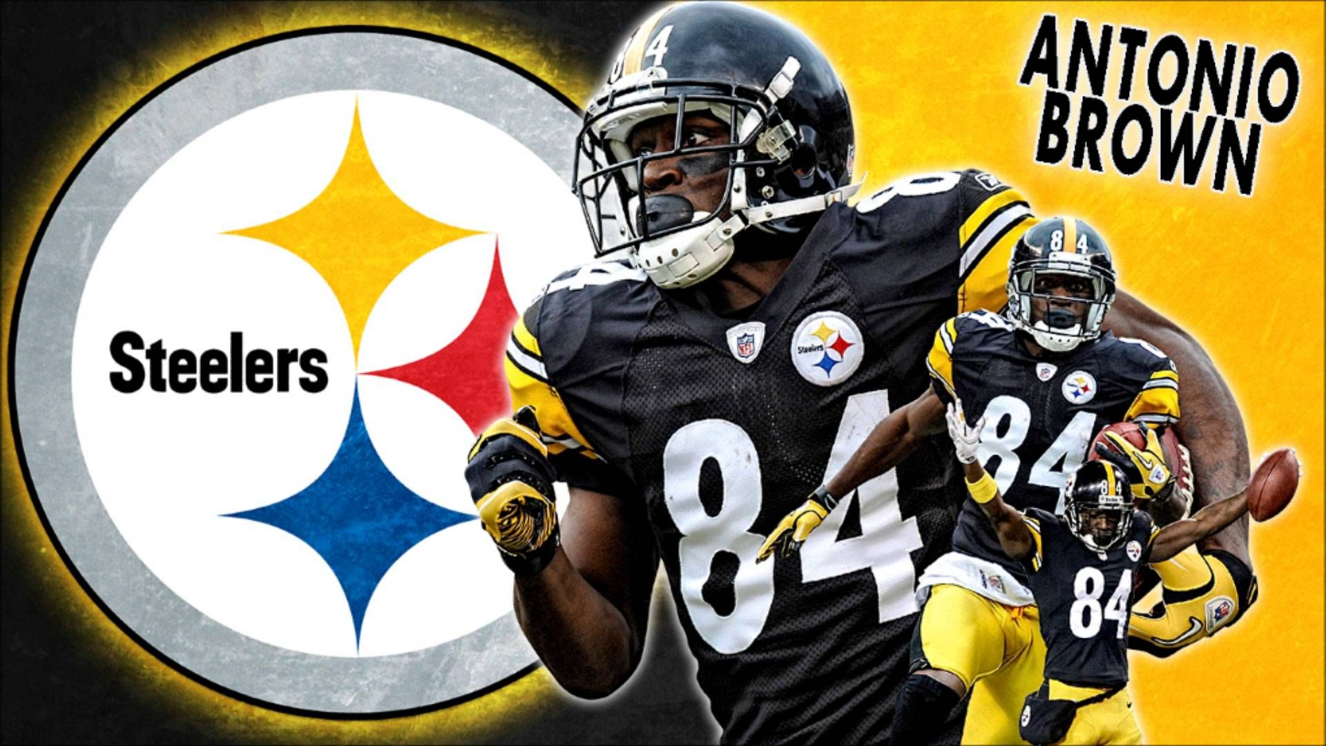 Pin By Andrew Bartlett On Steelers Antonio Brown Steelers Pittsburgh Steelers Wallpaper Antonio Brown