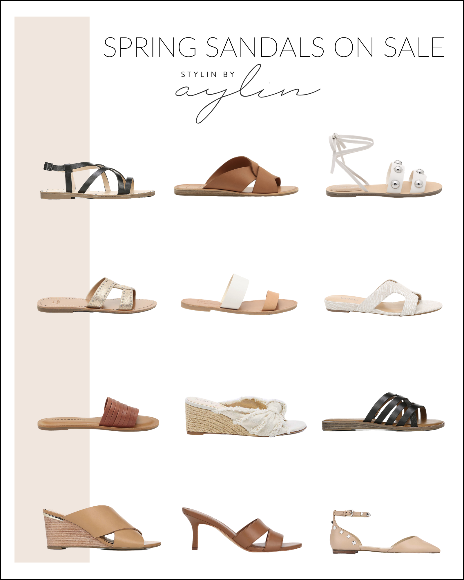 Spring sandals, Dressy shoes