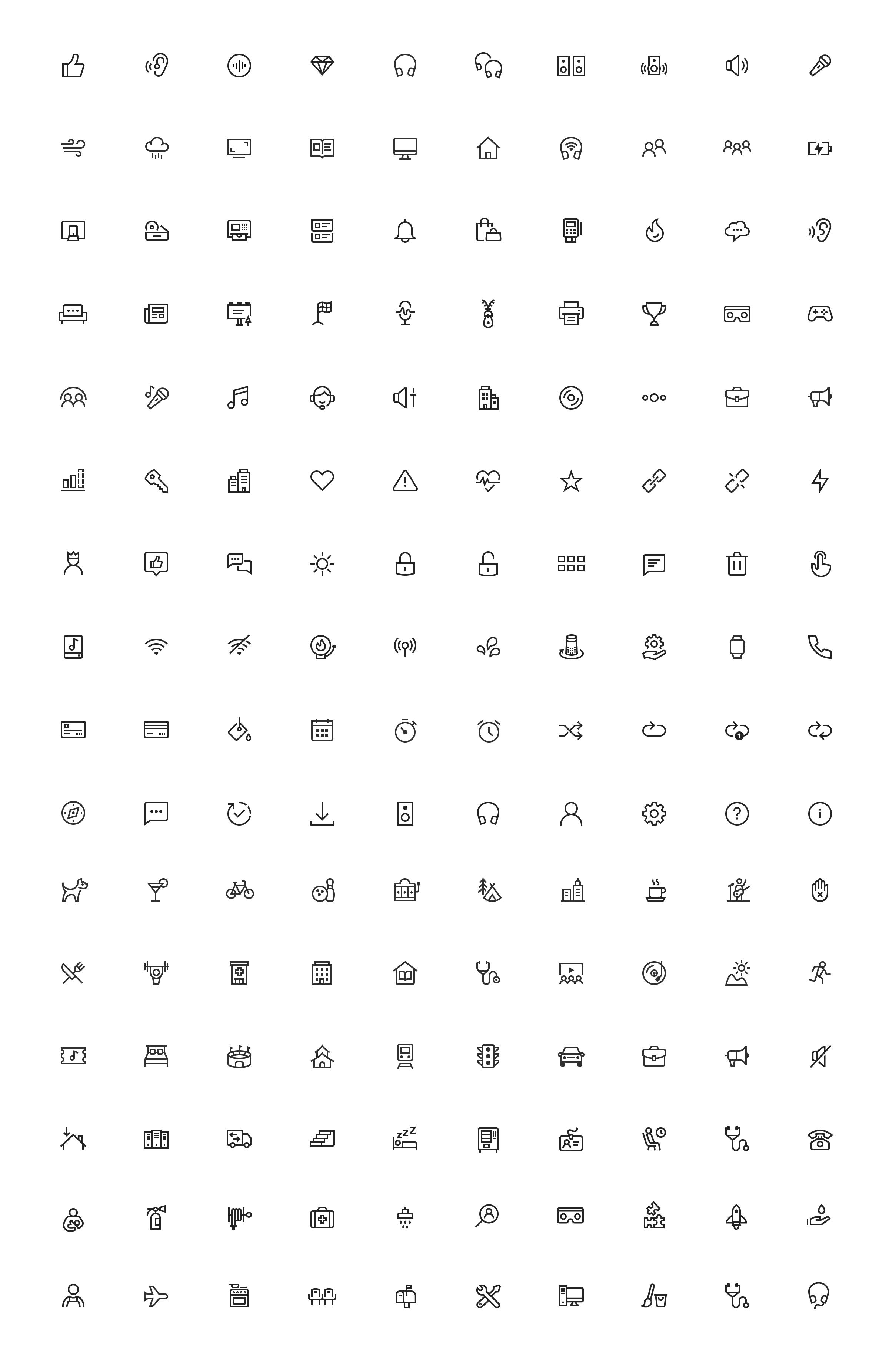 Bose Icon Set Zach Roszczewski Icon Icon Design Icon Set
