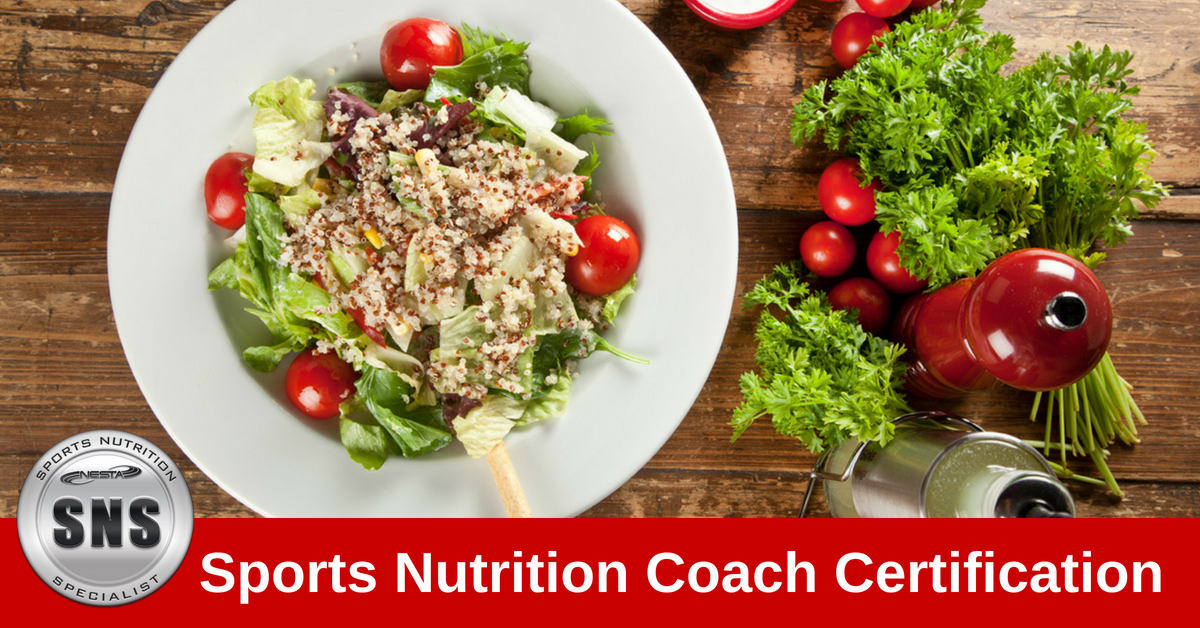 Sports Nutrition Specialist Certification Nutrition
