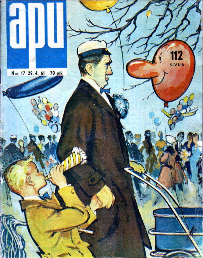 Vappu, A Lindeberg 1961