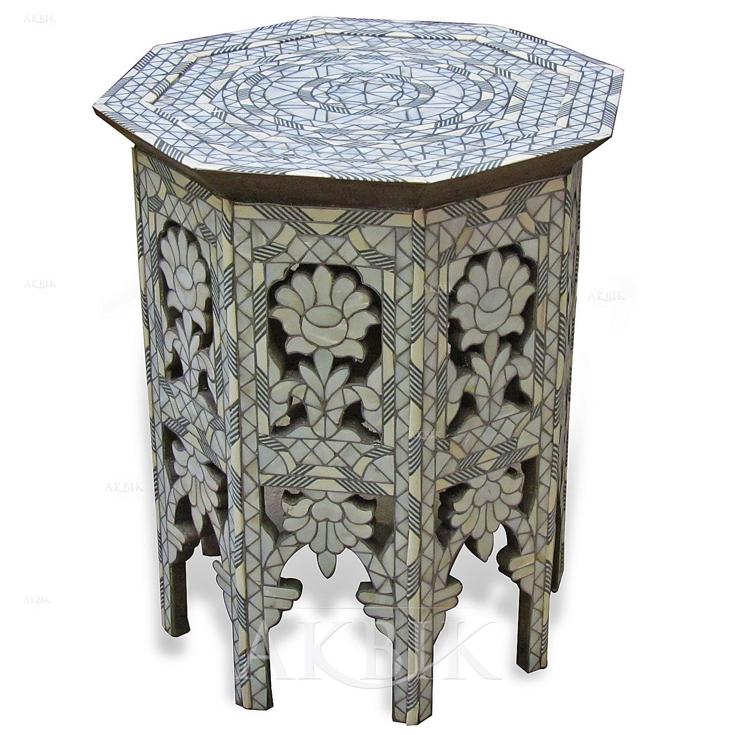 Mother of pearl Moroccan Syrian and Levantine Furniture