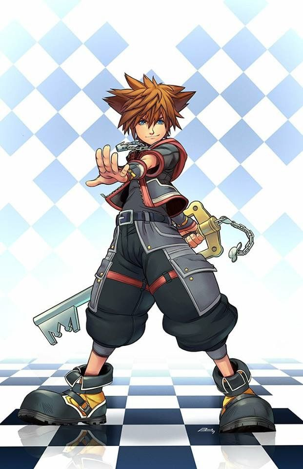 Kingdom Hearts 3 Sora Art By EMannLand