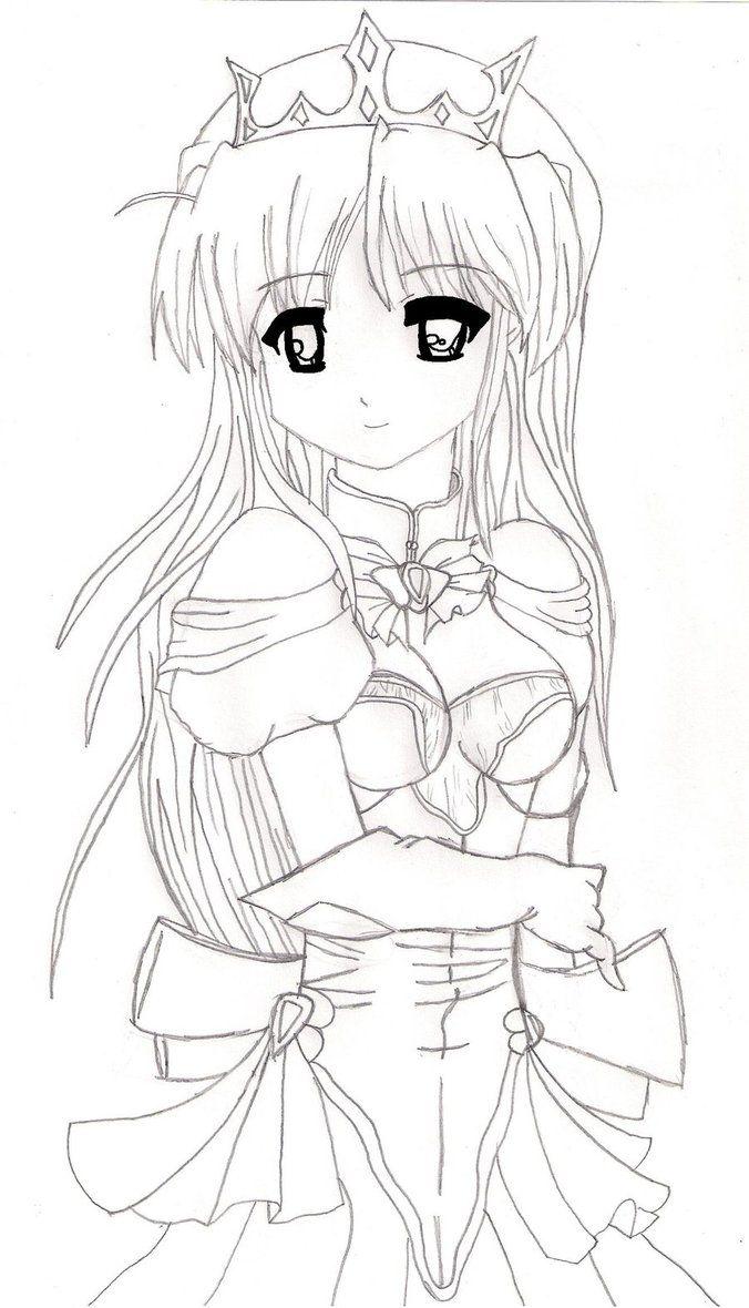 Princess Drawings Coloring Pages Blog Princess Drawings Anime Princess Disney Drawings Sketches