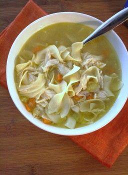 SOUPer Simple Chicken Noodle Soup