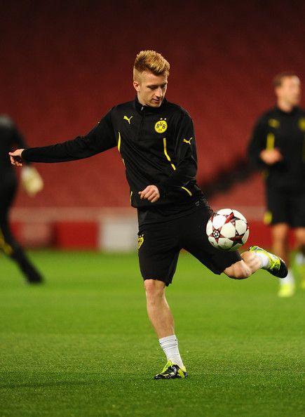 Marco Reus Photos Photos Borussia Dortmund Training Session Borussia Dortmund Marco Reus Soccer Players
