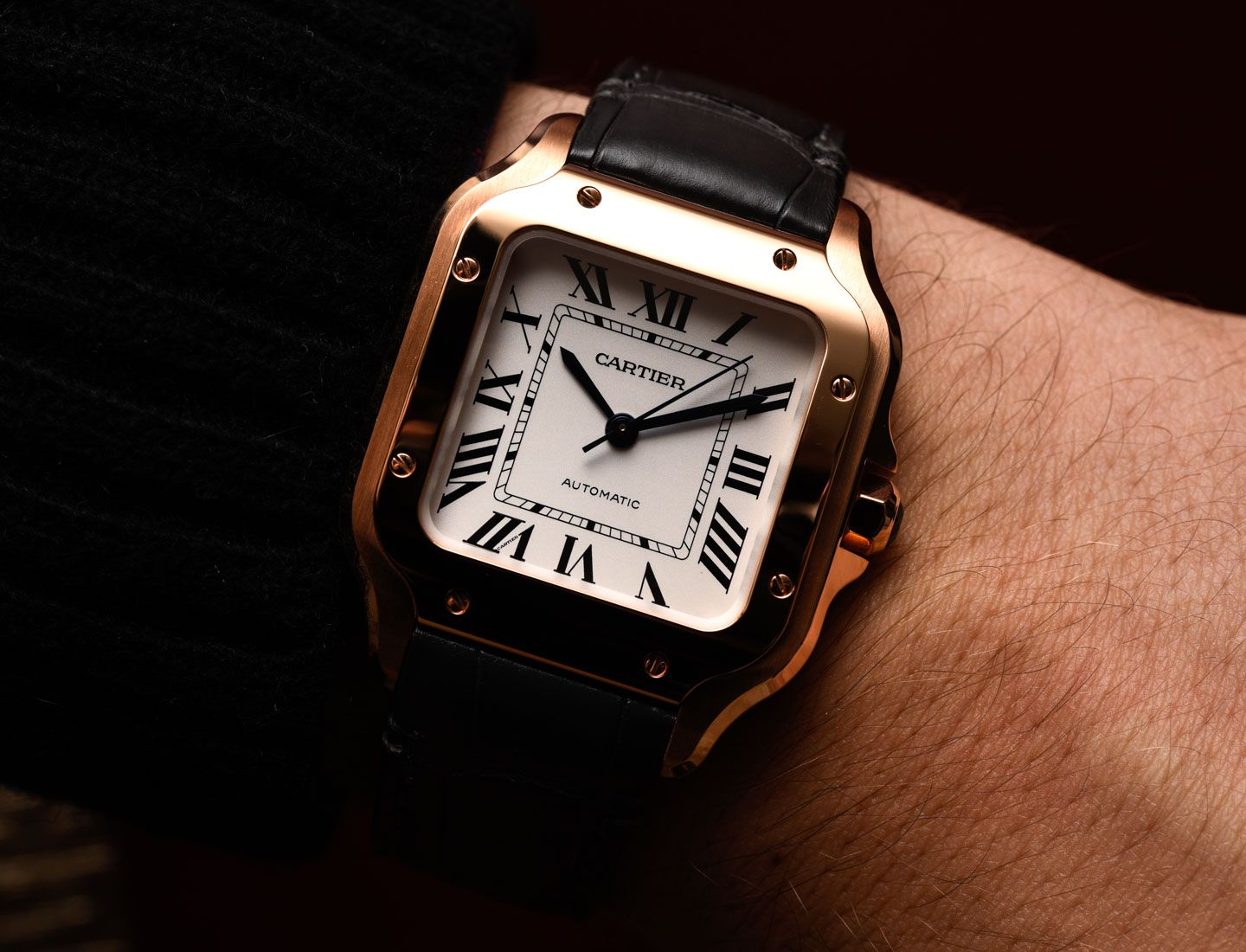 Pin By Carlos Gonzalez Perez On Timepieces And Watches Cartier Santos Watch Cartier Santos Cartier
