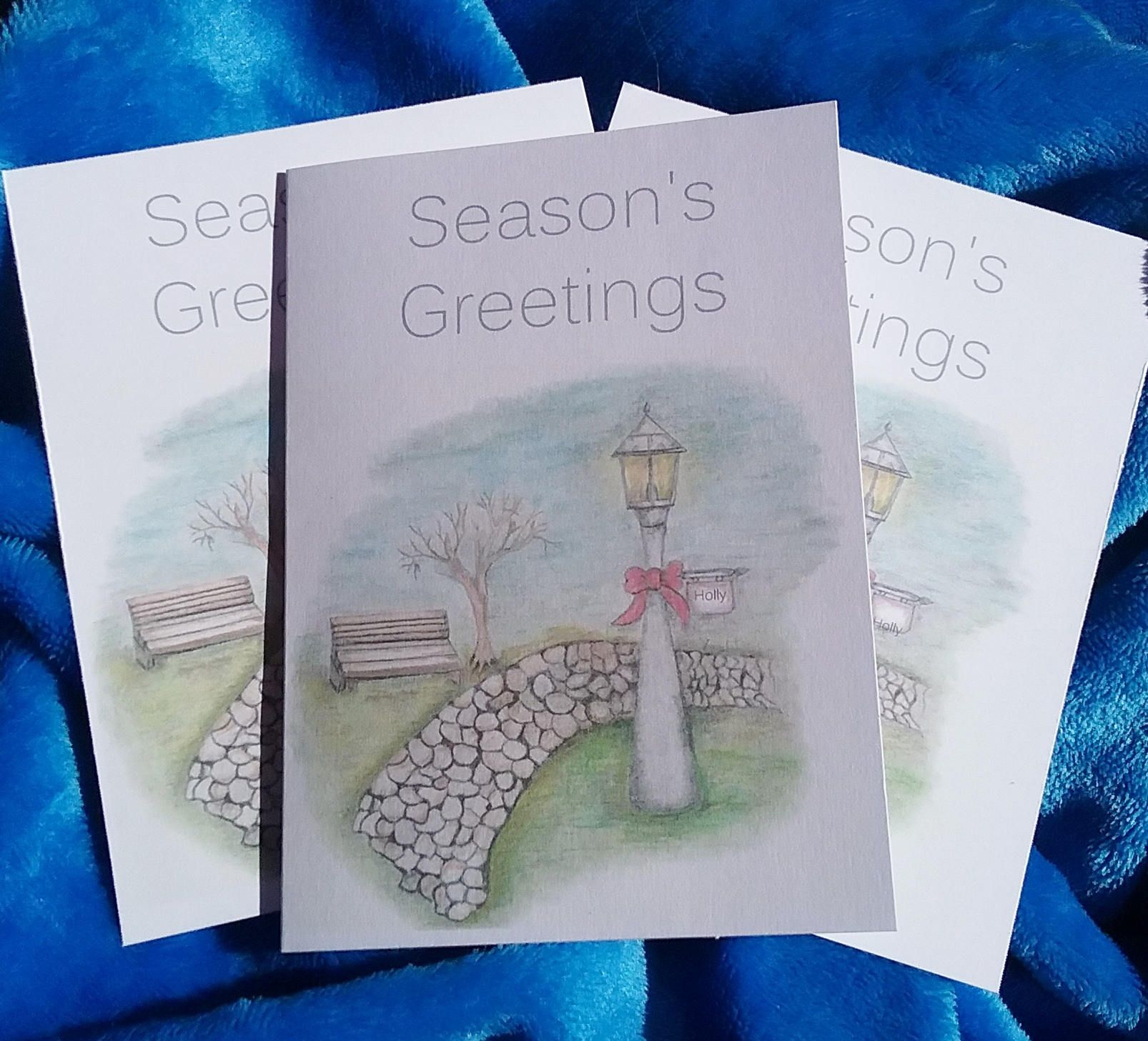 Christmas Cards Lamp Post Christmas Cards Holiday Cards Lamp