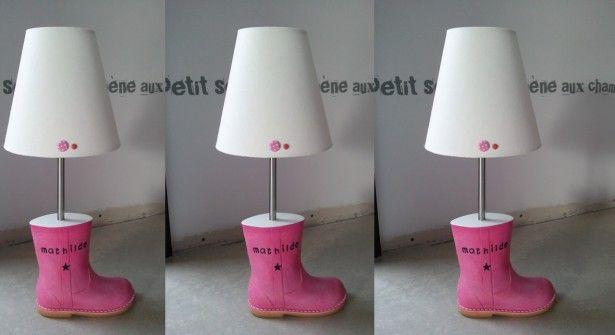 Une Lampe De Chevet Tendance Slow Creations Pinterest Chevet