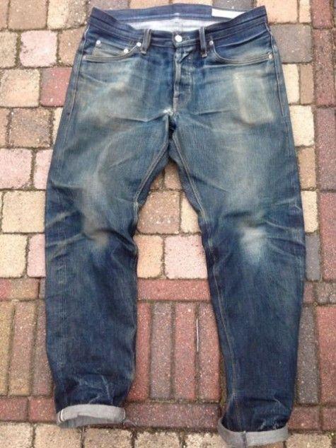 5b78500f Wouter Reimert Nijverdal Vif Jeans Rijssen Long John blog worn-out vintage big  john japan rare 008 style collection selvage 15oz denim jeans.