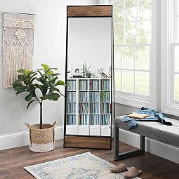 Floor Mirrors | Full Length Mirror | Kirklands | Floor ... on Floor Mirrors Decorative Kirklands id=29568