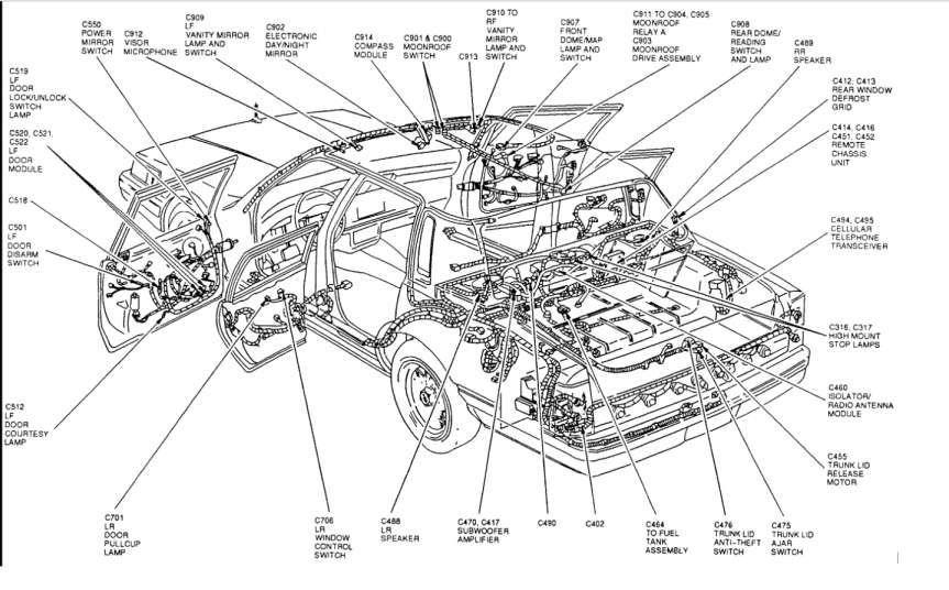 [DIAGRAM] Backup Wiring Diagram 1998 Lincoln Town Car