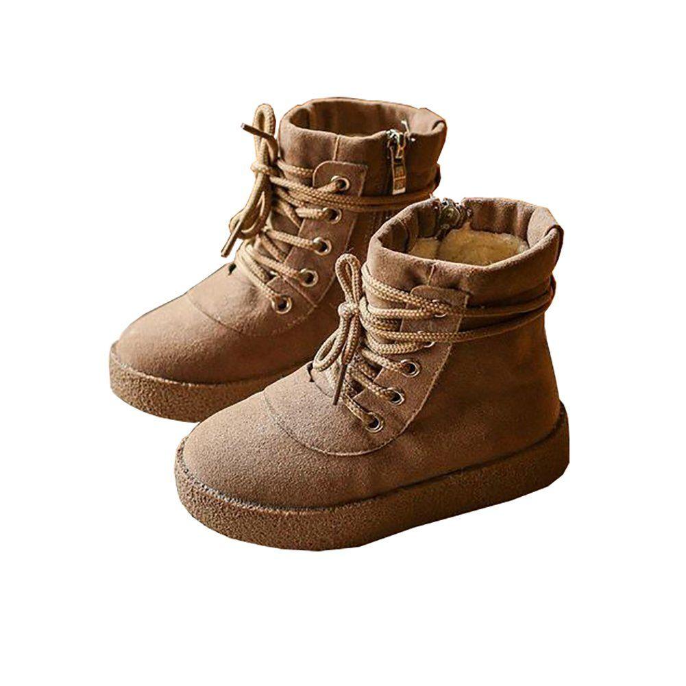 BININBOX Kids Warm Cotton Snow Boots Kids winter boots for Girls Boys (9.5  M US 068ef609c4ba