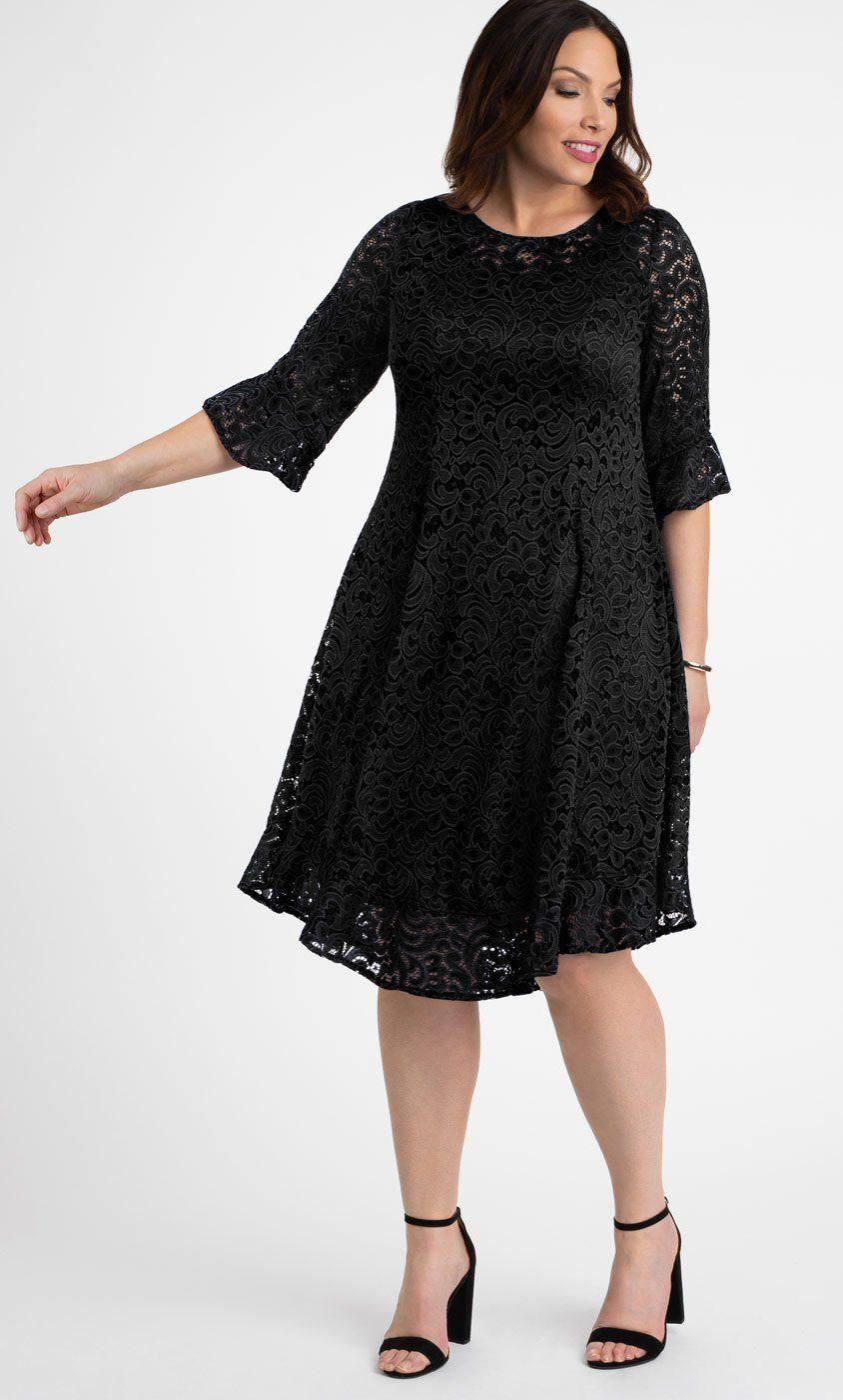 Livi Lace Dress  Spitzenkleid kurz, Kleid plus größen, Kleider