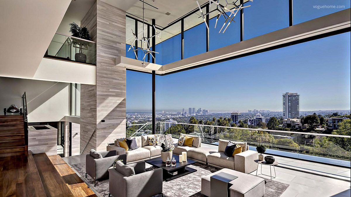 51 Luxury Living Rooms And Tips You Could Use From Them | Hollywood hills  homes, Contemporary home decor, New homes