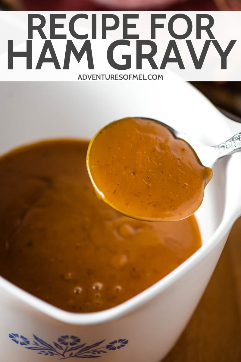 Recipe For Ham Gravy With Cornstarch Ham Gravy Cornstarch Gravy Gravy Recipe For Ham