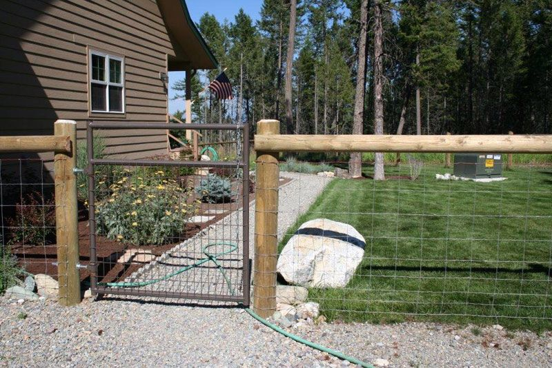 Inexpensive Yard Fence Lattice Garden Backyard Fences Fence