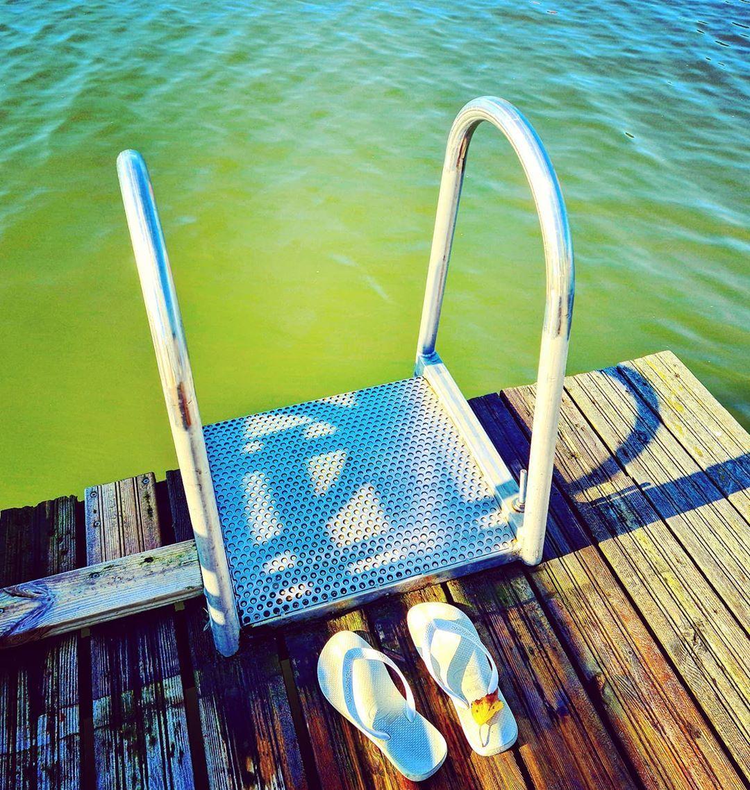Syyskuun Ekana Keltainen Lehti Varvassandaalilla Seaswimming Autumnleaves Urbannature Taiji Flipflops Iloveswimming Balticsea Toolo Helsinki Finland In 2020