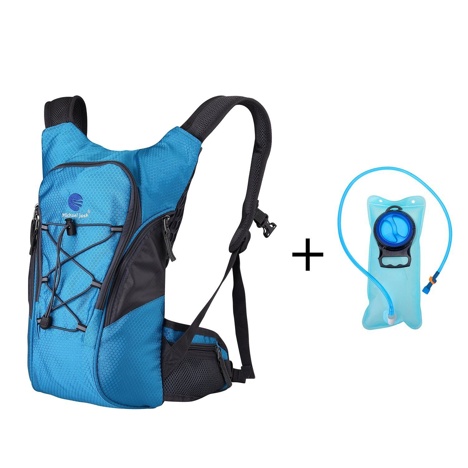 Hydration Pack with 2L Bladder,Comfortable Lightweight