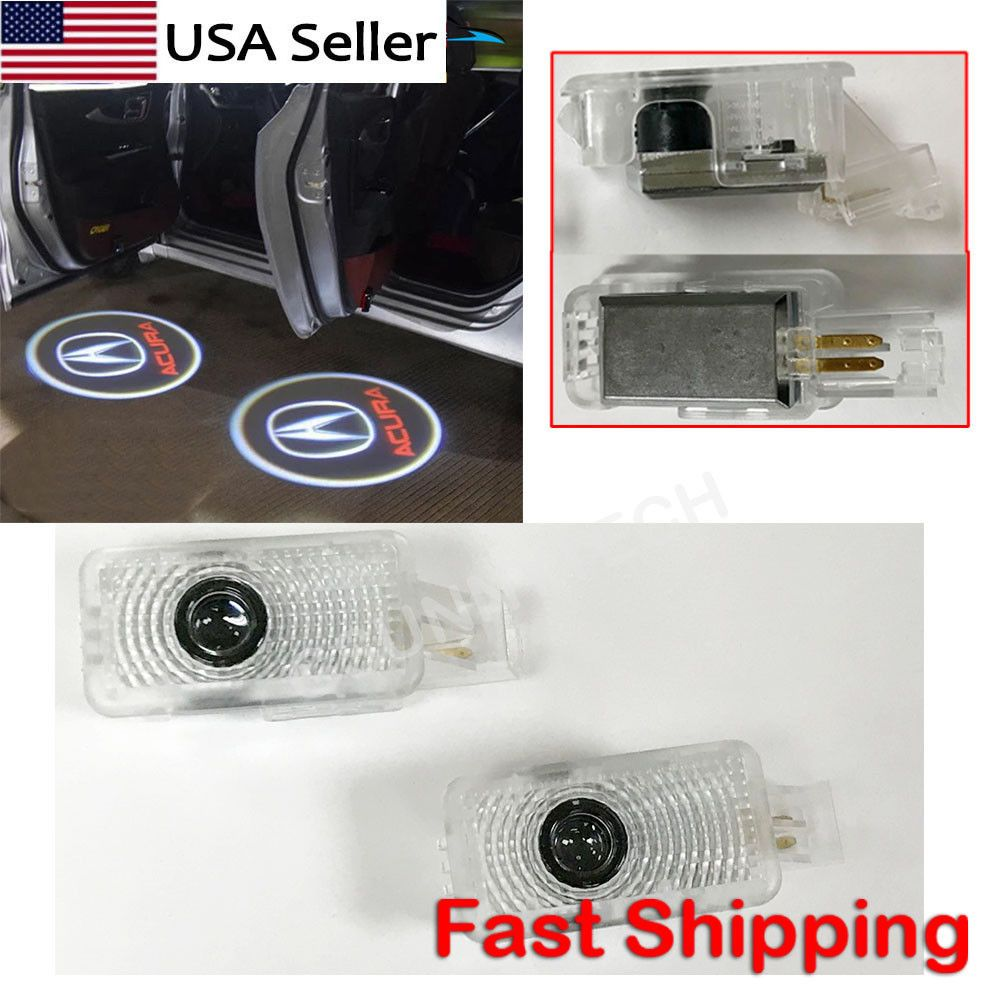 US-Deals Cars 2X LED Car Door Logo Laser Shadow Projector